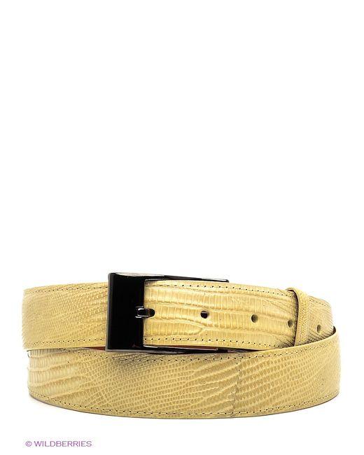 Pan American leather   Женские Жёлтые Ремни