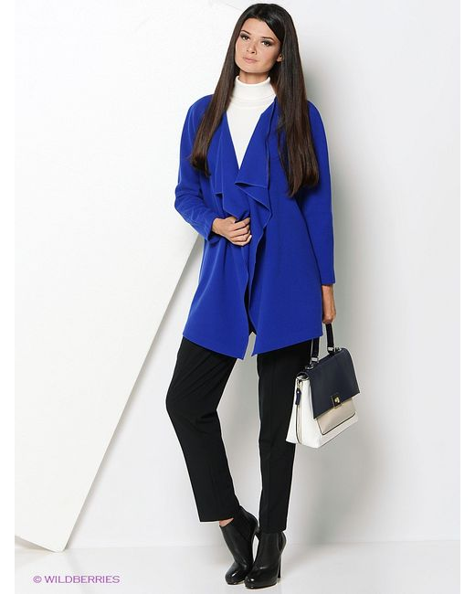 A.Karina | Женское Синее Пальто