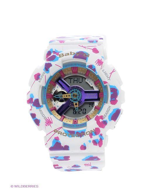 Casio | Женские Белые Часы