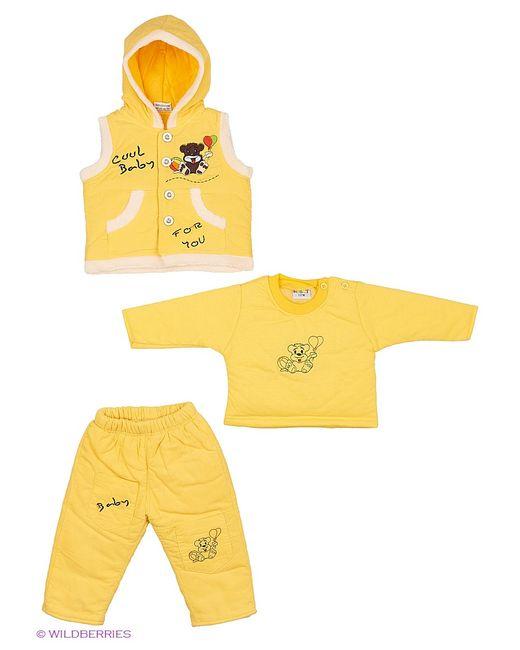 Kidly | Жёлтые Комплекты Одежды