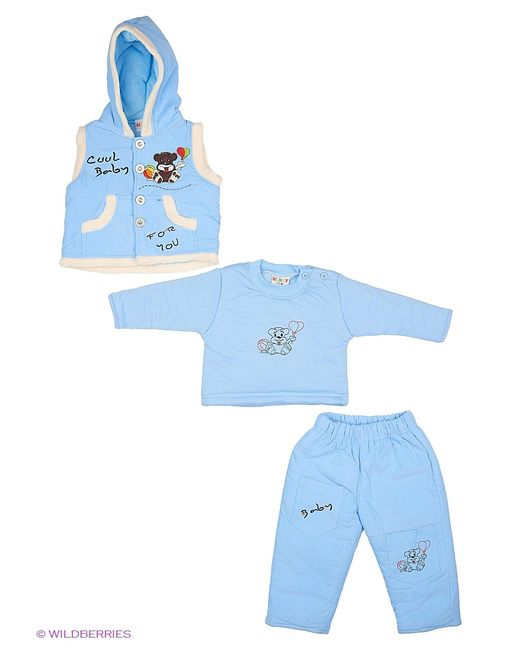 Kidly | Голубы Комплекты Одежды