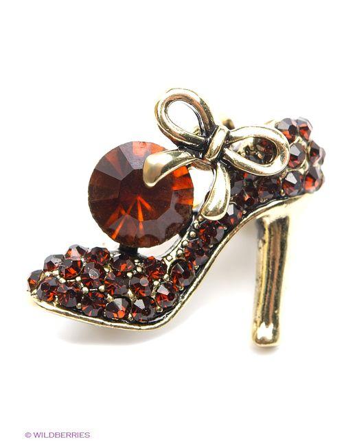 Royal Diamond | Женские Красные Броши