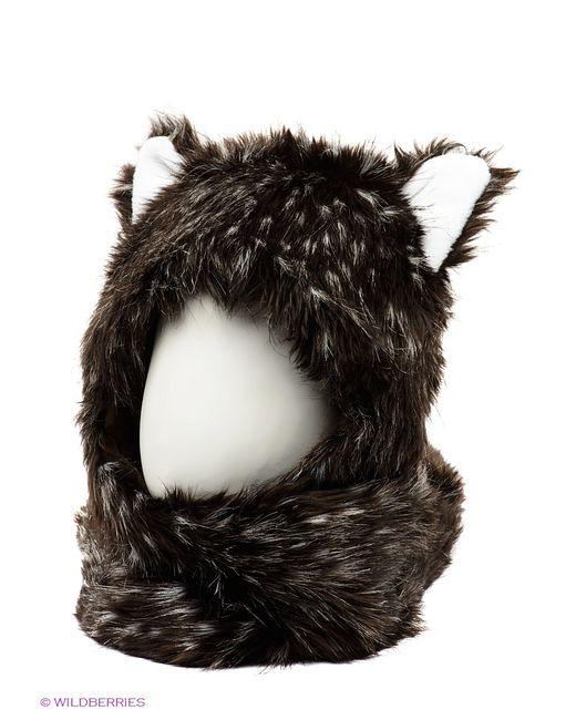 True Fur | Женские Чёрные Шапки