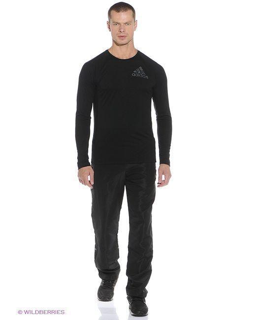 Adidas   Мужские Чёрные Лонгсливы