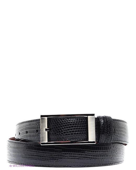 Pan American leather | Мужские Чёрные Ремни