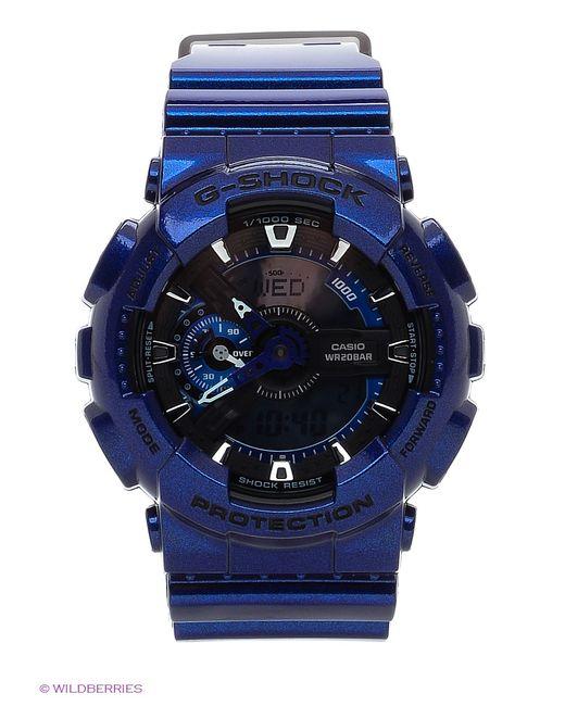 Casio   Женские Синие Часы