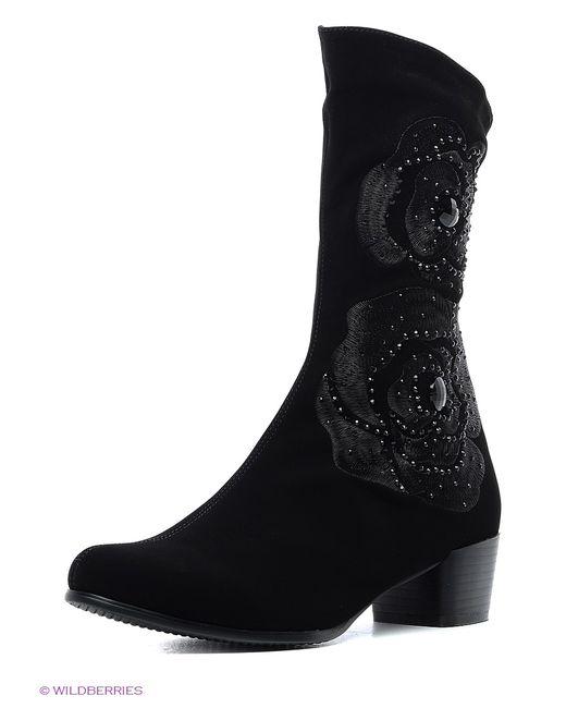 Shelly | Женские Чёрные Ботинки