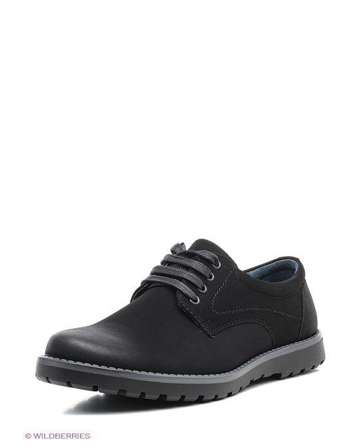 Tesoro | Мужские Чёрные Ботинки