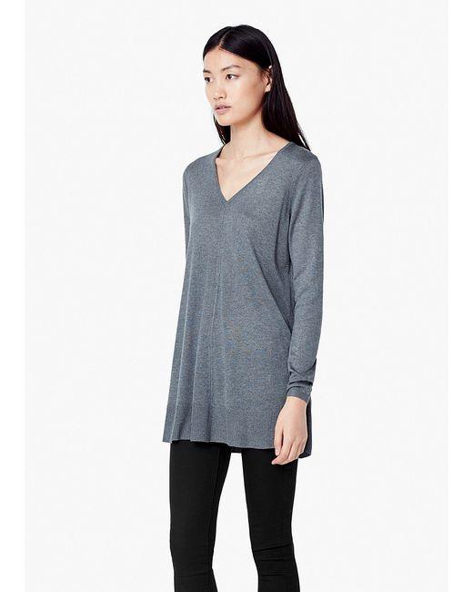 Mango | Женские Серые Пуловеры