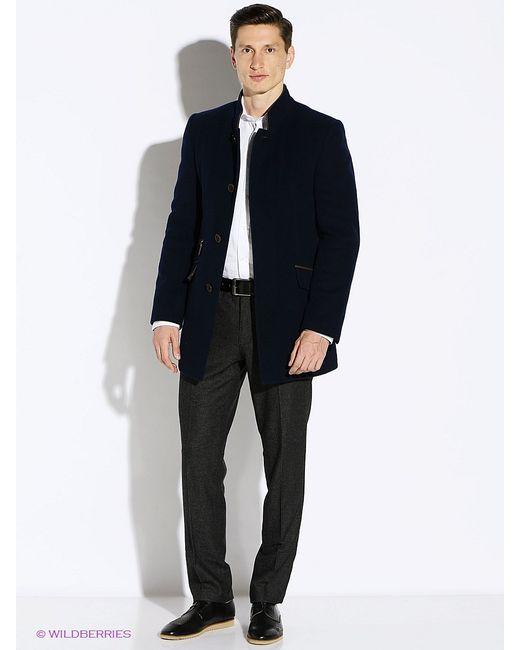 Berkytt | Мужское Синее Пальто