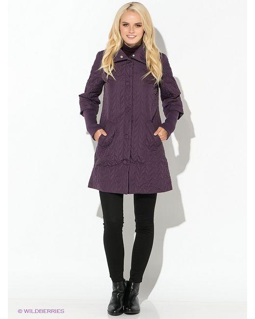 Oodji | Женское Фиолетовое Пальто