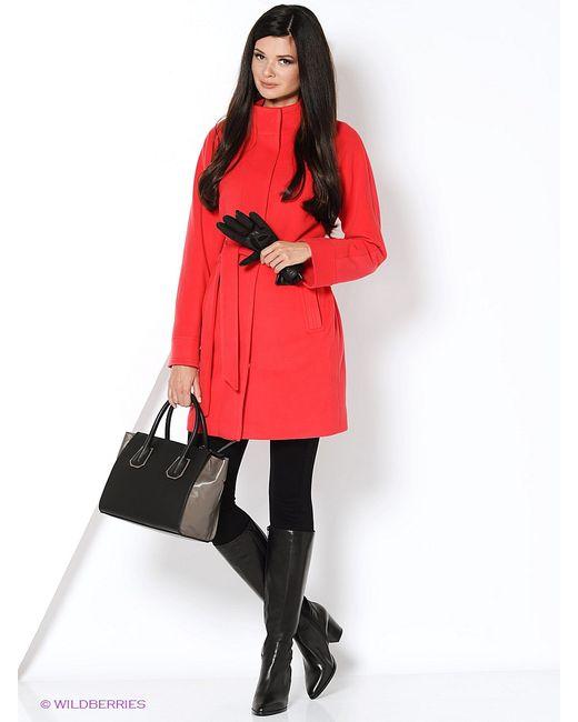 Electrastyle | Женское Розовое Пальто
