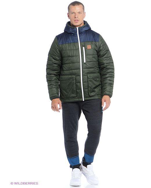 Reebok | Мужские Оливковые Куртки