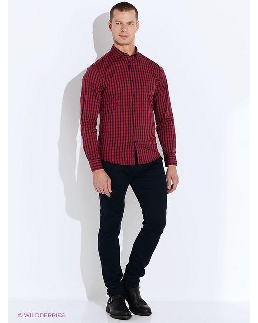 Oodji | Мужские Красные Рубашки