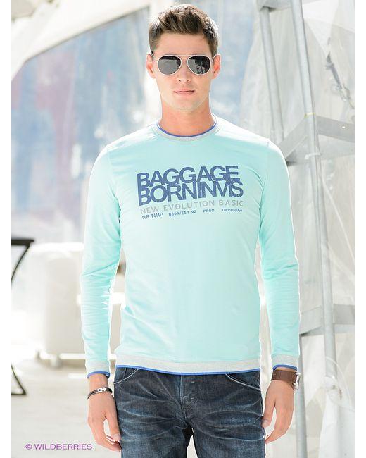 BAGGAGE   Мужские Голубы Лонгсливы