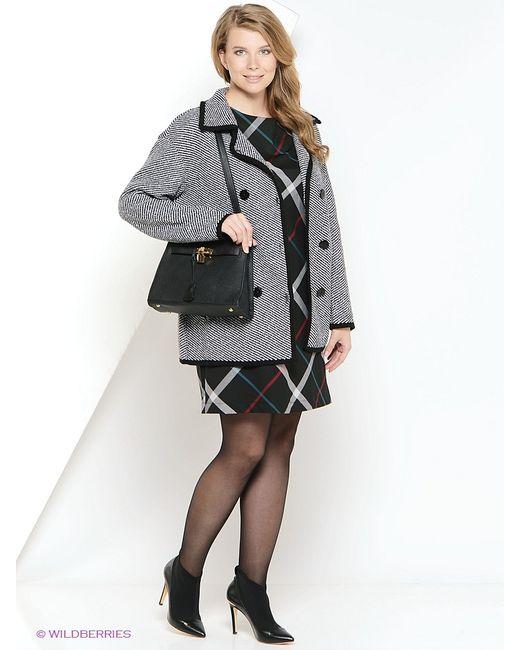 Milana Style | Женское Чёрное Пальто