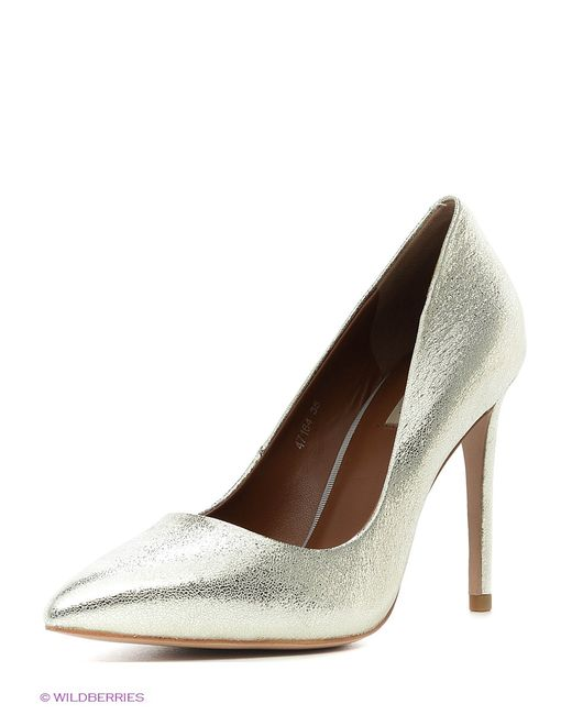 Vitacci | Женские Серебристые Туфли