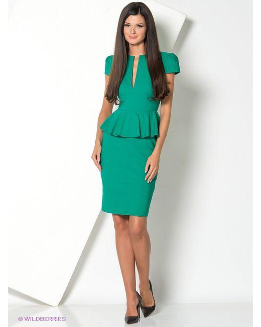 Goddess London | Женские Зелёные Платья