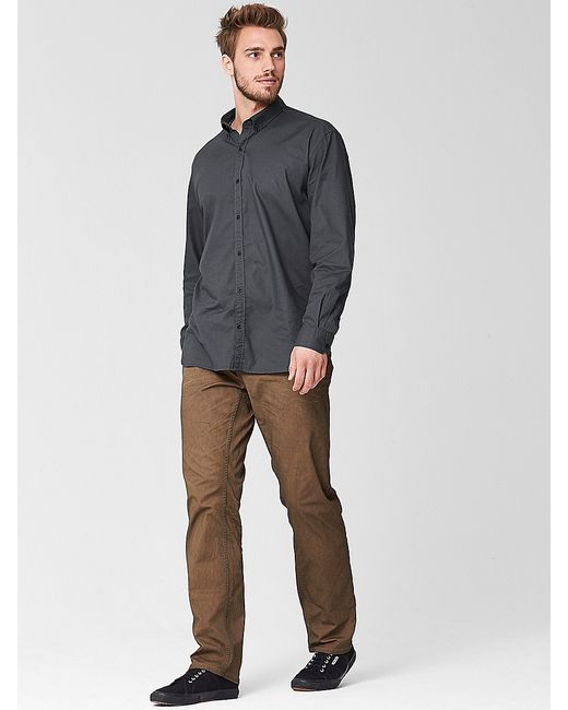 s.Oliver | Мужские Антрацитовые Рубашки