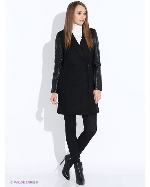 Befree | Женское Чёрное Пальто
