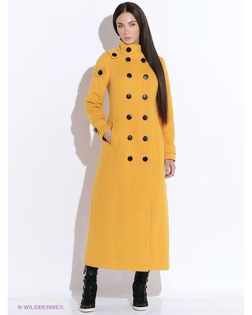 Doctor E | Женское Горчичное Пальто