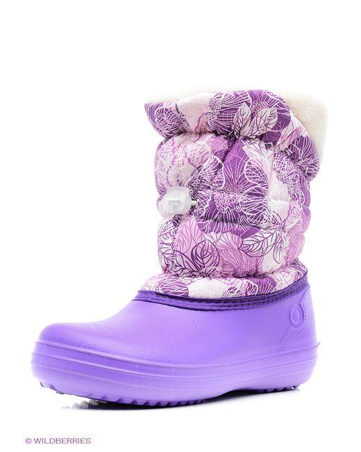 Дюна | Женские Фиолетовые Резиновые Сапоги