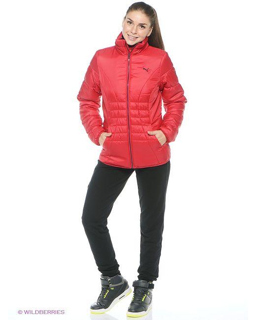 Puma   Женские Красные Куртки