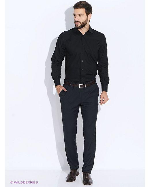 Conti Uomo | Мужские Чёрные Рубашки