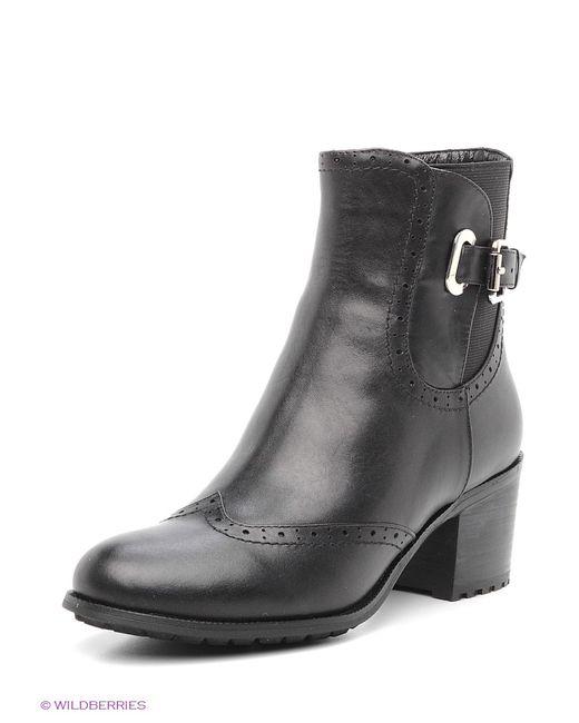 Evita | Женские Чёрные Ботинки