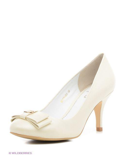 Moda Donna | Женские Бежевые Туфли