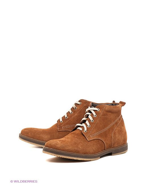Mondigo | Мужские Коричневые Ботинки