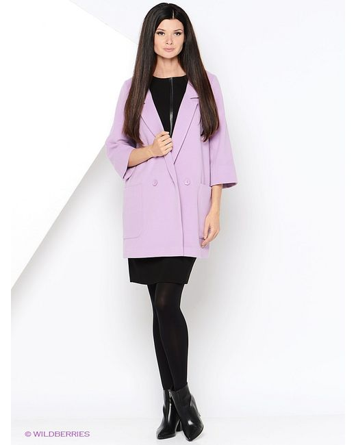RUXARA | Женское Розовое Пальто