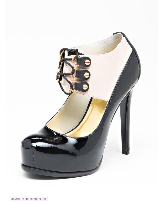 Klimini | Женские Чёрные Туфли