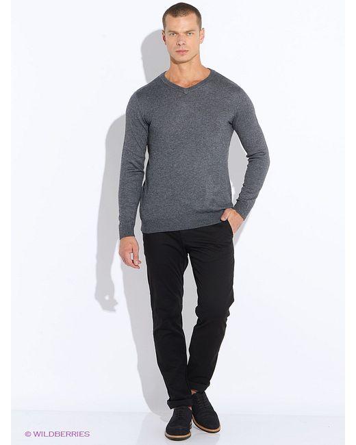 Sela | Мужские Серые Пуловеры