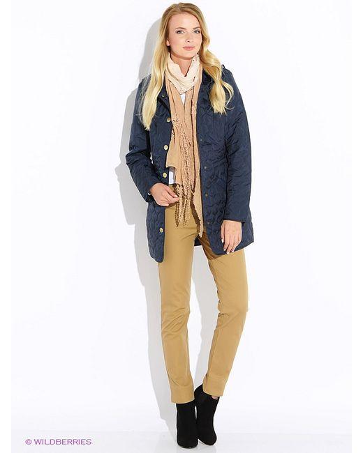 Finn Flare | Женское Синее Пальто