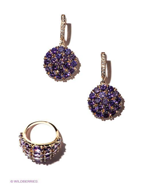 Lovely Jewelry   Женские Фиолетовые Комплекты Бижутерии