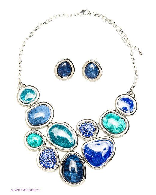 Bijoux Land | Женские Синие Комплекты Бижутерии