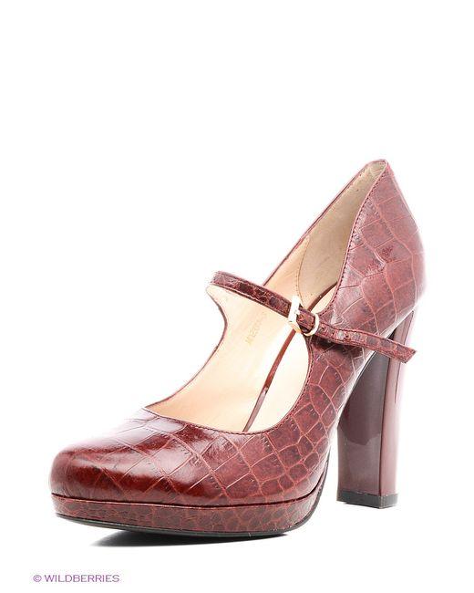 Moda Donna | Женские Коричневые Туфли