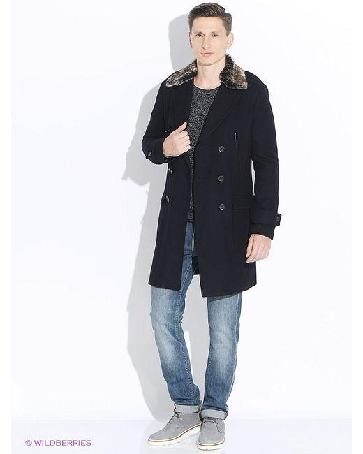 Oodji   Синее Пальто