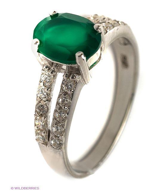 Balex   Женские Зелёные Ювелирные Кольца