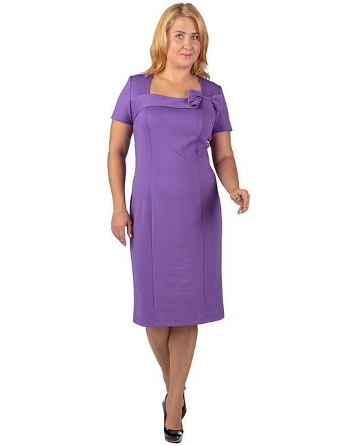 Regina Style | Женские Фиолетовые Платья