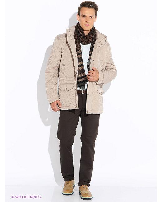 Finn Flare   Мужские Бежевые Куртки