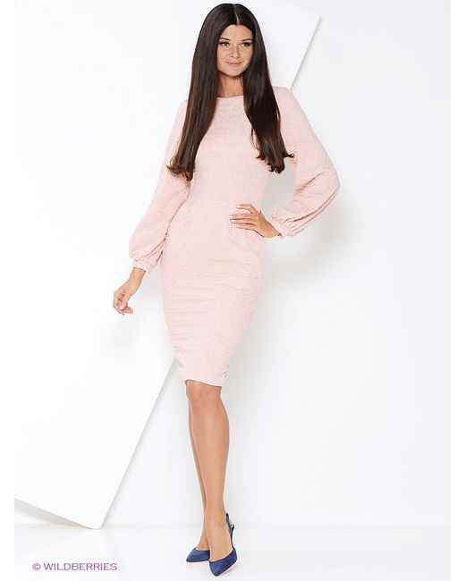 Mary Mea | Женские Розовые Платья