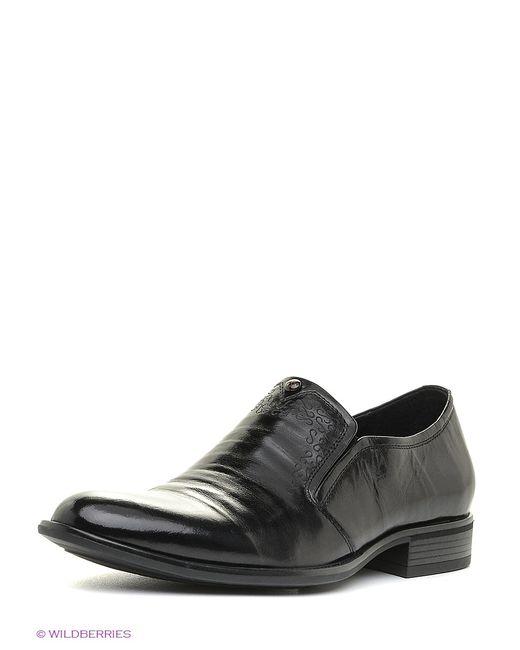 Dino Ricci | Мужские Чёрные Туфли