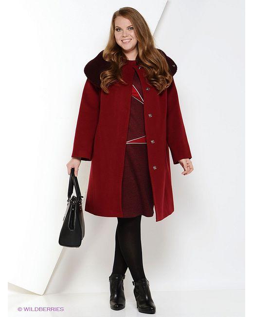 Electrastyle   Женское Красное Пальто