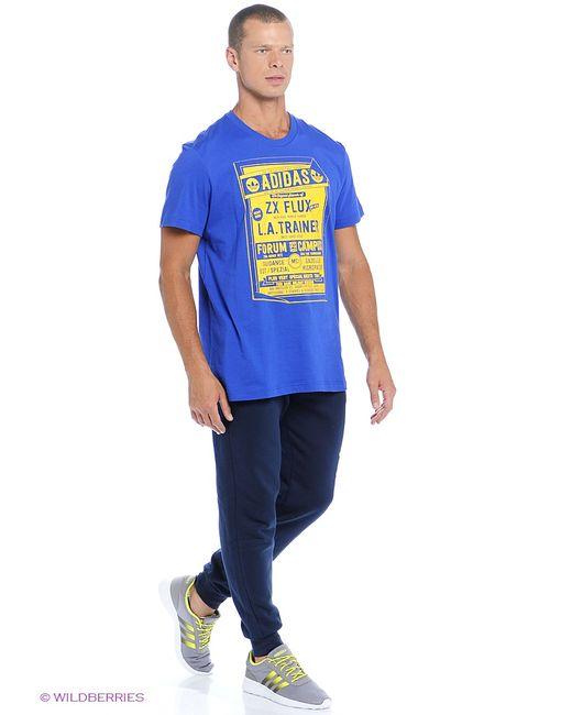 Adidas | Мужские Синие Футболки