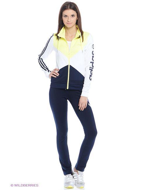 Adidas | Белые Толстовки