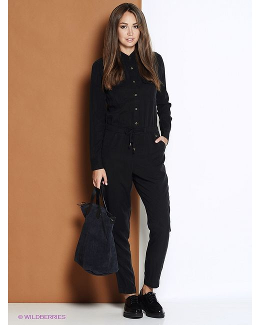 Pepe Jeans London | Женские Чёрные Комбинезоны