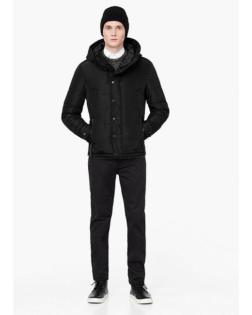 Mango Man   Мужские Чёрные Куртки