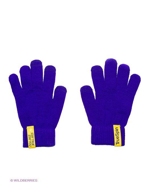 Truespin | Мужские Фиолетовые Перчатки True Spin